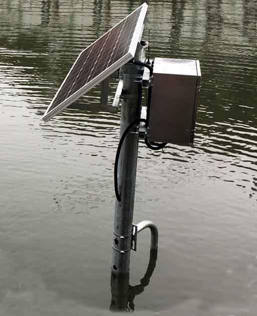 立杆微型水质监测站