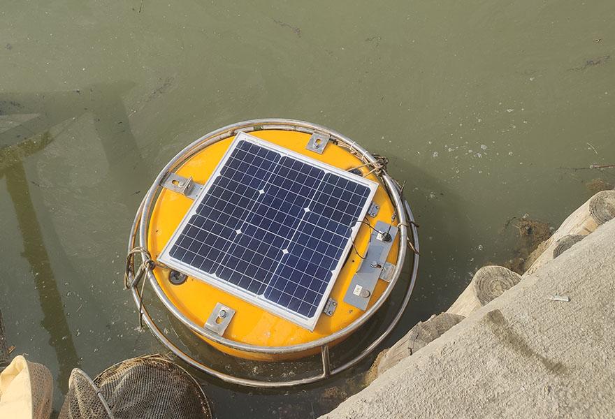 禹山小型浮标系统实时监测